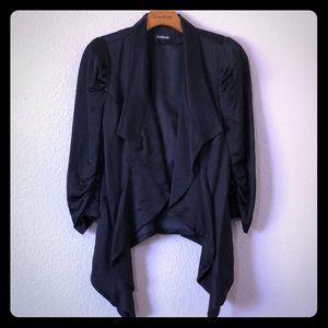 bebe Jackets & Coats - bebe open front waterfall blazer